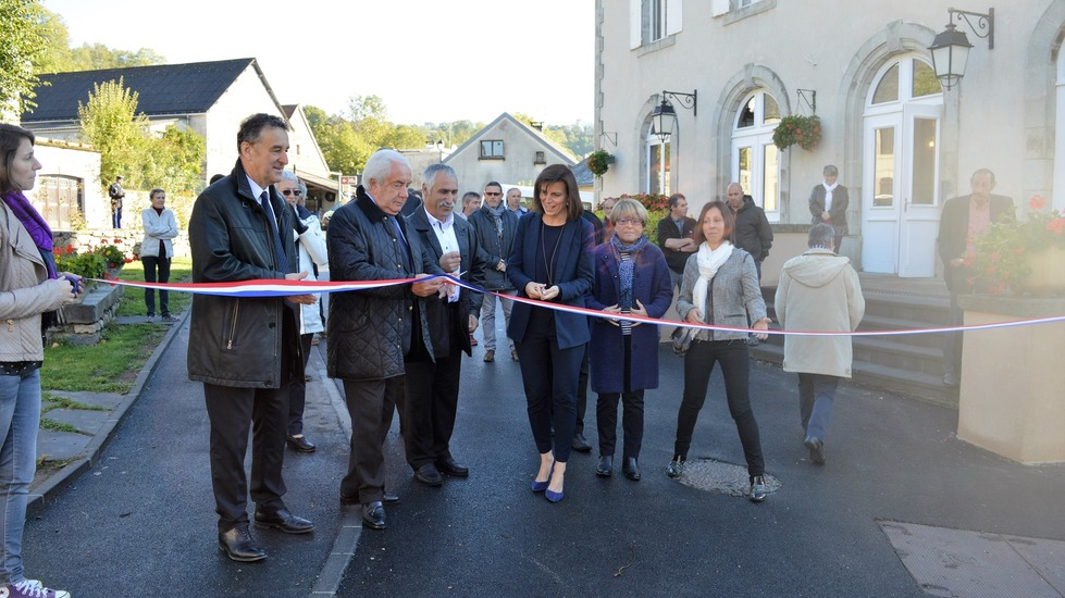 Inauguration du Coeur de Village